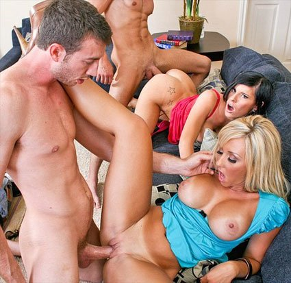 Darren james infects porn stars